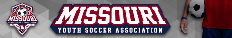 Missouri Youth Soccer Association banner